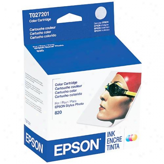 Epson T027201 Color Ink Cartridge For Sp820