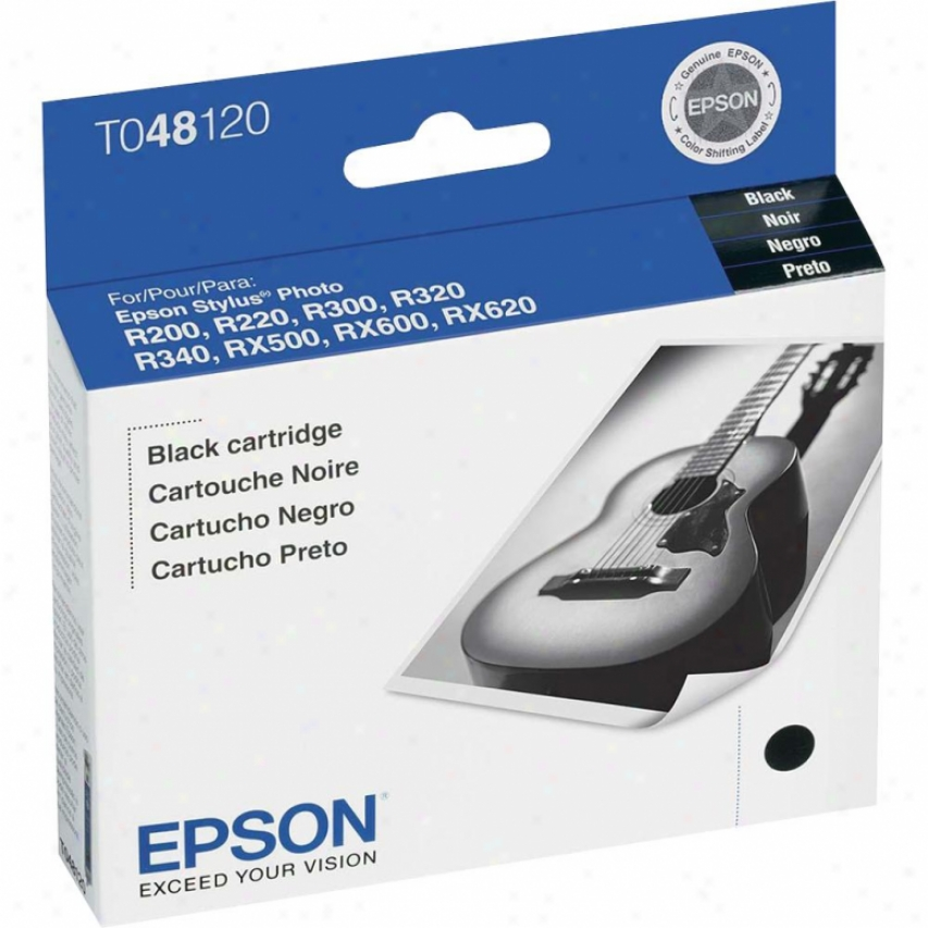 Epson T048120 Black Ihk Cattridge