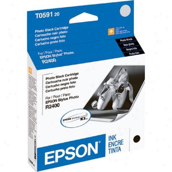 Epson T059120 Photo Black Ink Cartridge - Stylus Photo R2400