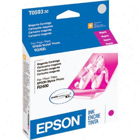 Epson T059320 Magenta Ink Cartridge - Stylus Photo R2400