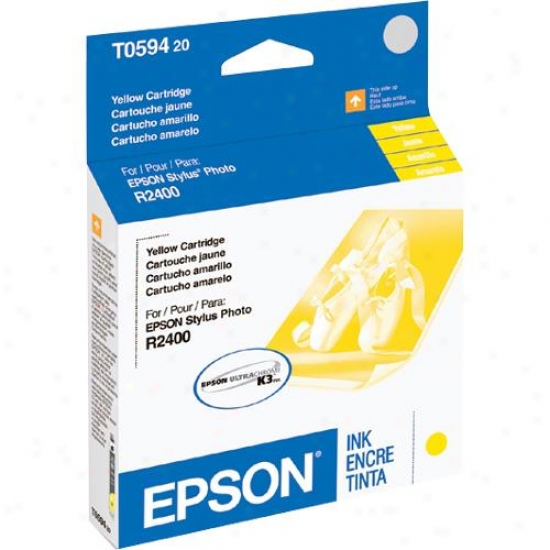 Epson T059420 Yellow Ink Cartridge - Stylus Photo RZ400
