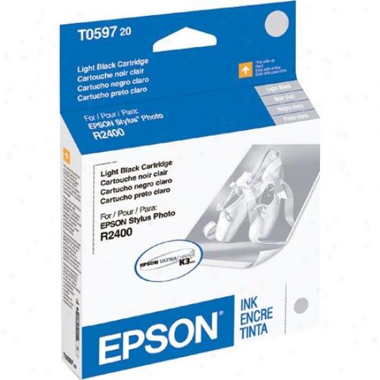 Epson T059720 Light Dismal Ink Cartridge - Stylus Photo R2400