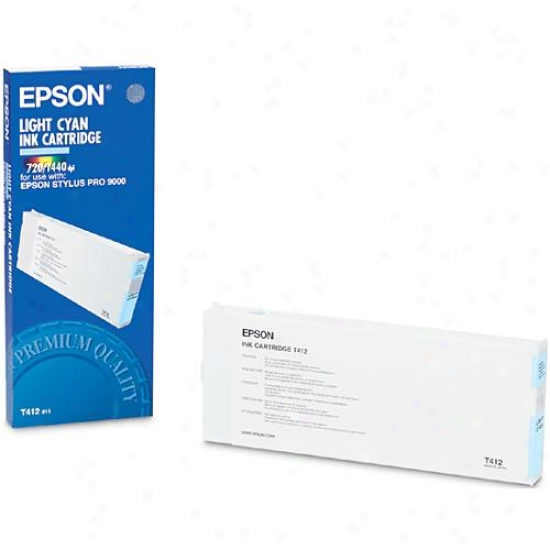 Epson T412011 Light Cyan Ink Cartridge