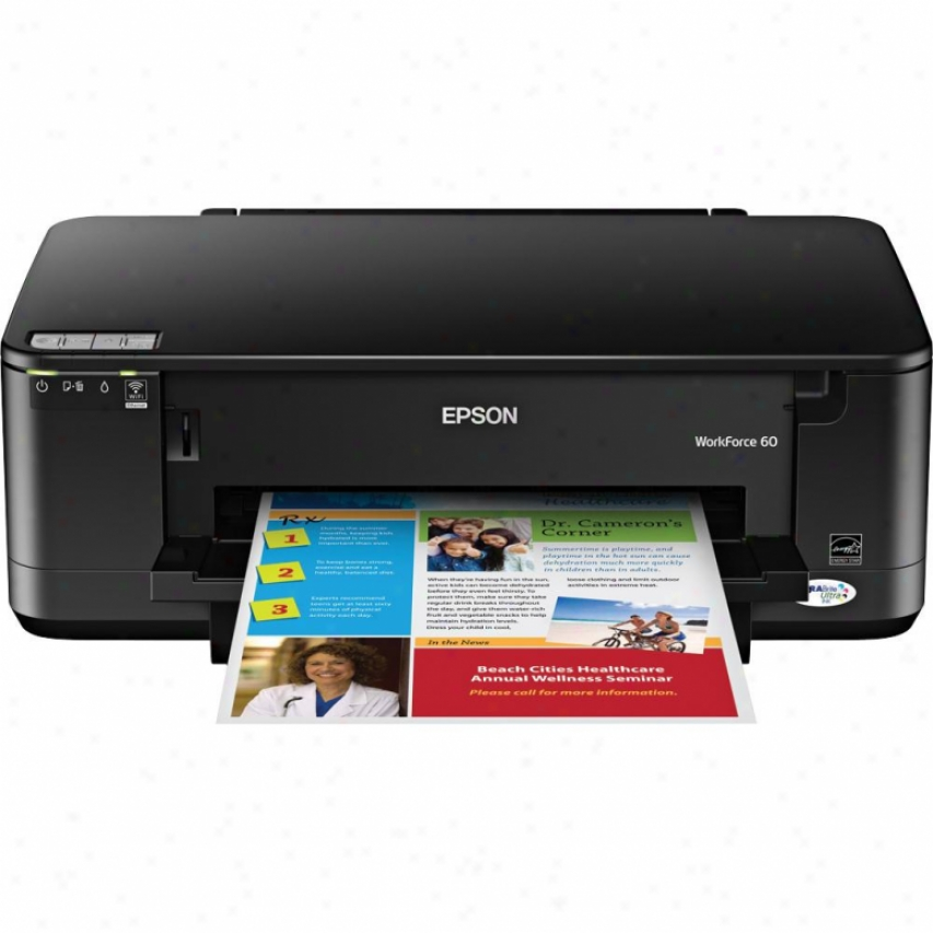 Epson Workforce 60 Wireless Ink Jet Color Printer