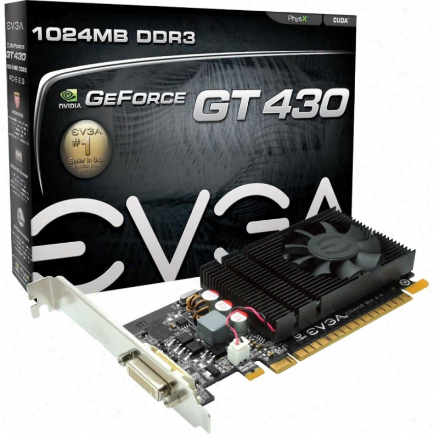 Evga Geforce Gt430 1gb Ddr3