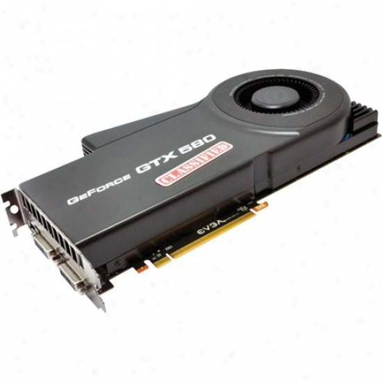 Evga Geforce Gtx580 3gb Gddr5 Graphics Card