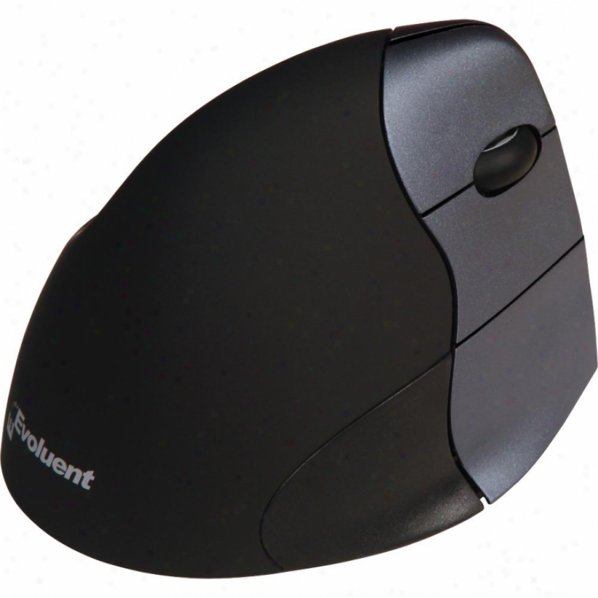 Evoluent Verticalmouse 3 Wireless Right Hand Mouwe - Silver/black