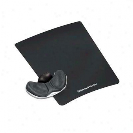 Fellowes Gliding Palm Support Graphite