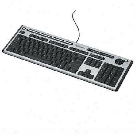 Fellowes Microban Multi Media Keyboard