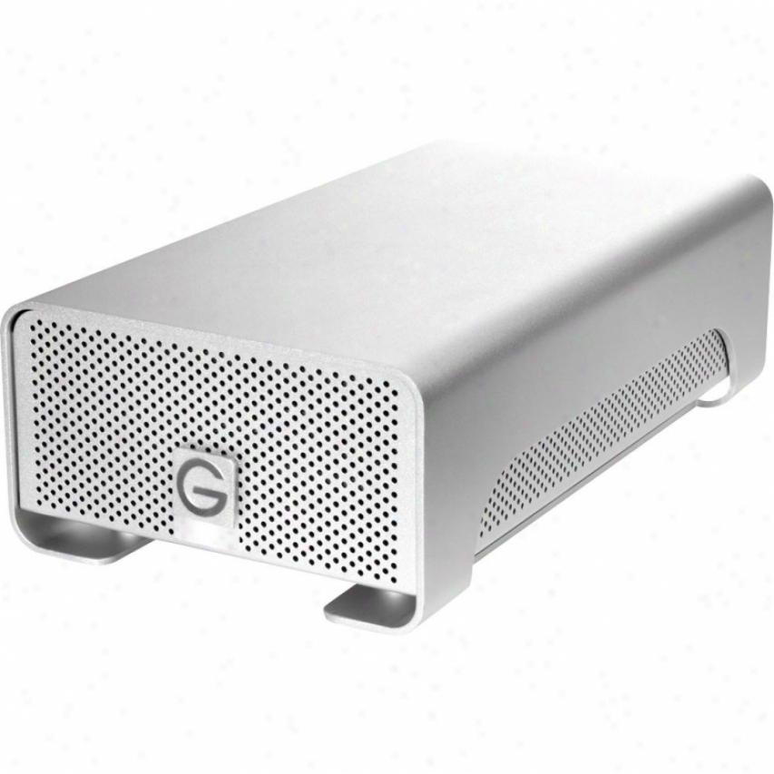 G-tech G-raid Gr42000 2tb Qud Interface Professional Raid External Hard Drive
