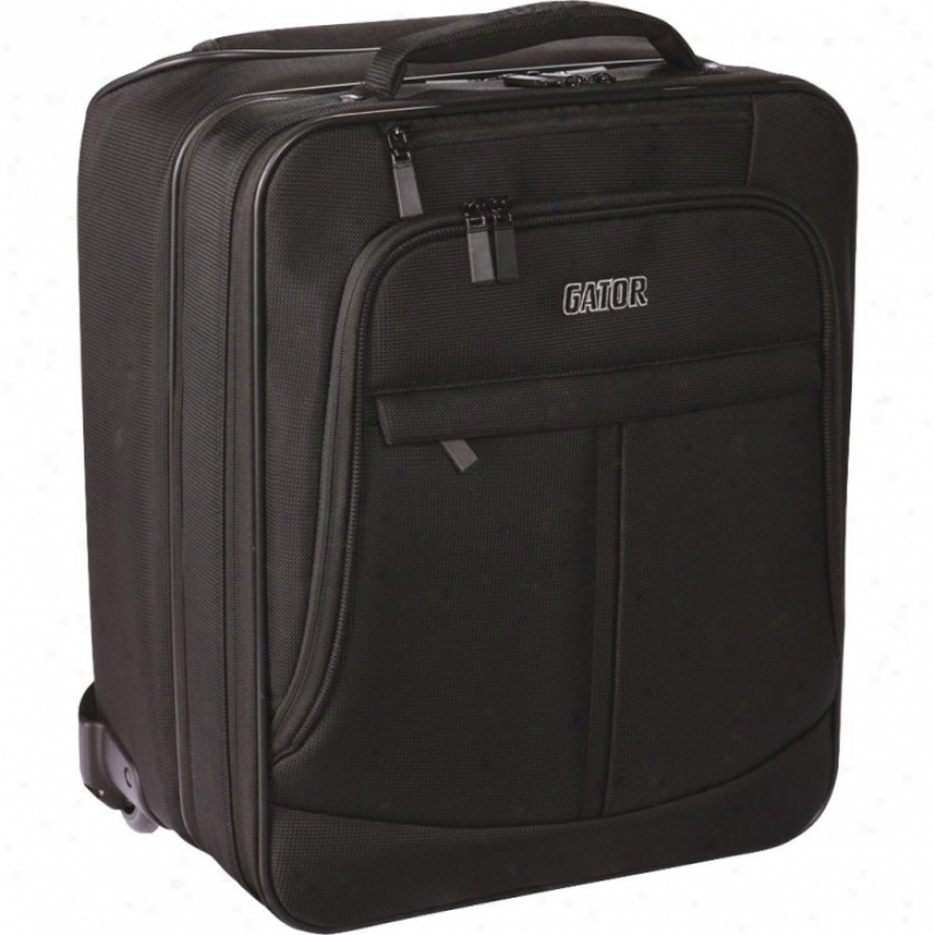 Gator Cases Wheeled Checkpoint Friendly Laptop And Prkjector Bag With Handle