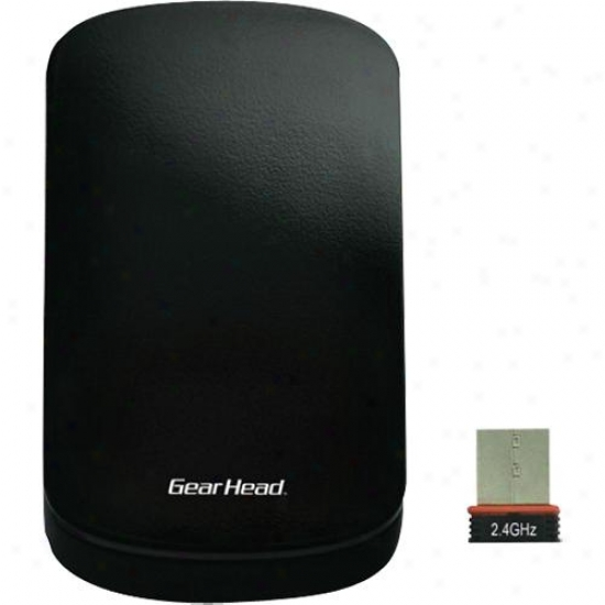 Gear Head 2.4 Ghz Wireless Touch Nano Mousr - Mp3500wt