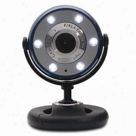 Gear Head Night Vision Web Cam Blue