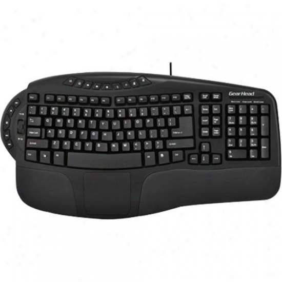Gear Head Windows Navigator Pro Usb Keyboard - Kb4200npu