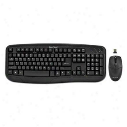 Gear Head Wireless Desktop With Keyboard & Optical Mouse Kb5150w