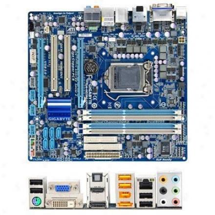 Gigabyte Ga-h55m-ud2h Lga 1156 Intel H55 Micro Atx Intel Motherboard