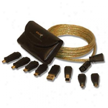 Goldx 6' Usb 12-in-1 Camera Kit