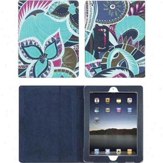 Griffin Technology Elan Folio Ipad 2 Gb02586 - Teal Fllowers
