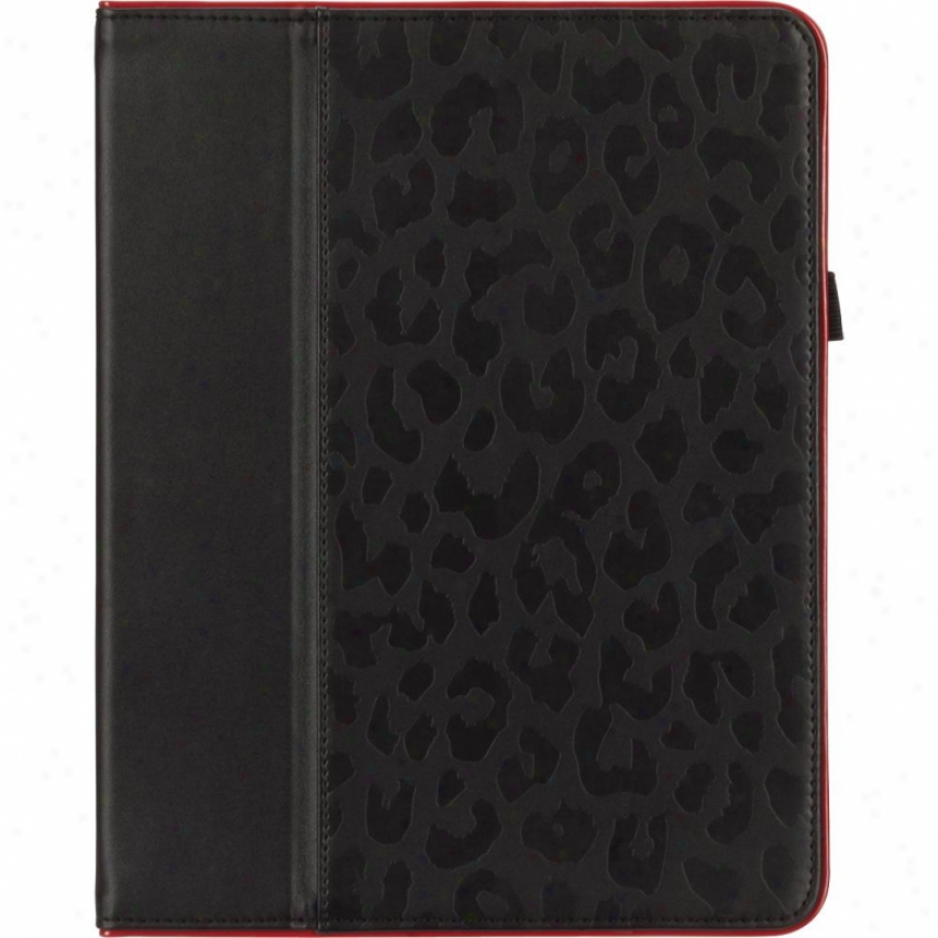 Griffin Technology Moxy Elan Folio For Ipad 2 And New Ipad 3 - Black And Red