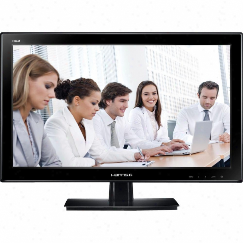 """Hannspree 24"""" Class Lcd Monitor With Speakers - Hk241dpb"""