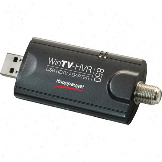 Hauppauge Wibtv-hvr-850 With Nstc/atsc Usb Tv Tuner For Pc 01200