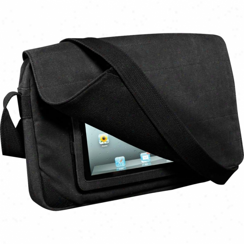 "Hex 15"" Recon Messenger Bag For Mac And Ipad Charcoal"