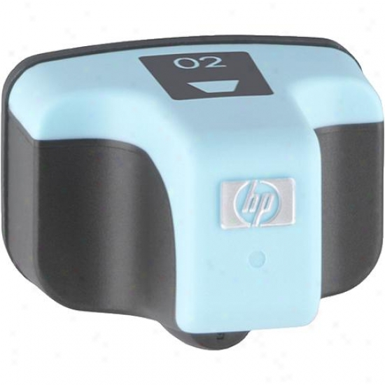 Hp 02 Illuminate Cyan Ink Cartridge