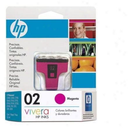 Hp 02 Low Yield Magenta Ink Cq