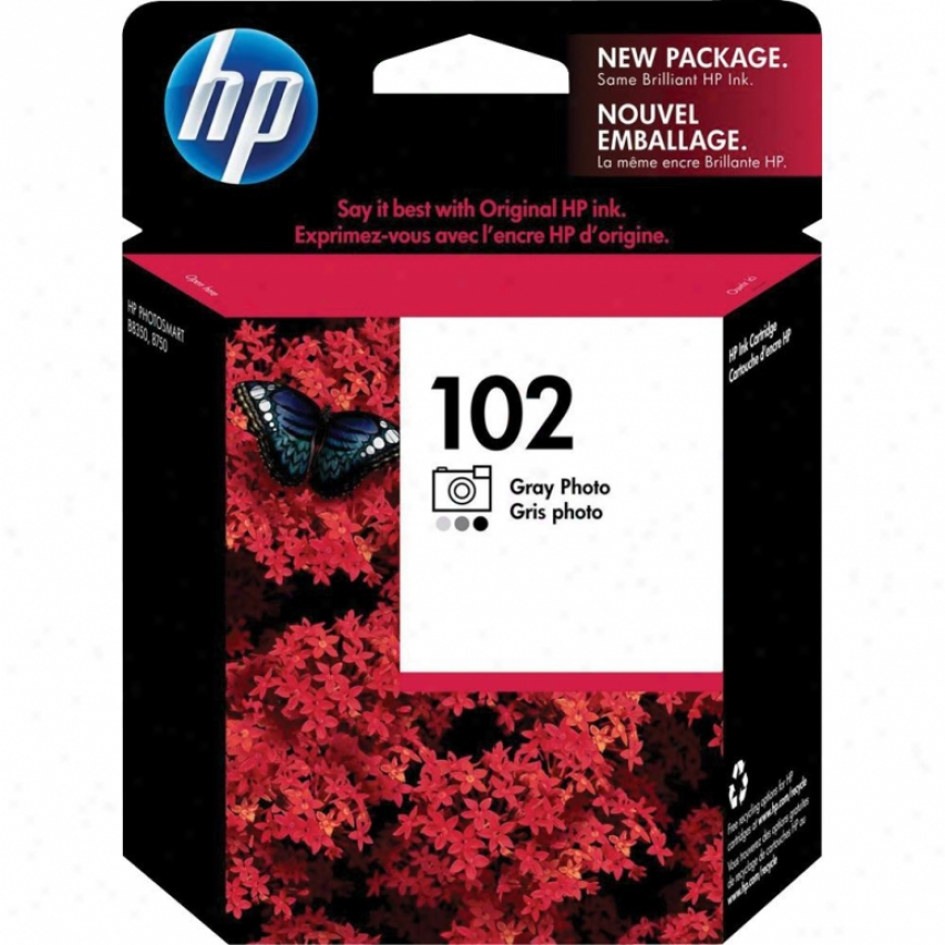 Hp 102 Gray Photo Inkjet Print Cartridge - Specialty - C3960am