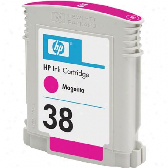 Hp 38 C9416a Magenta Inkjet Print Cartridge