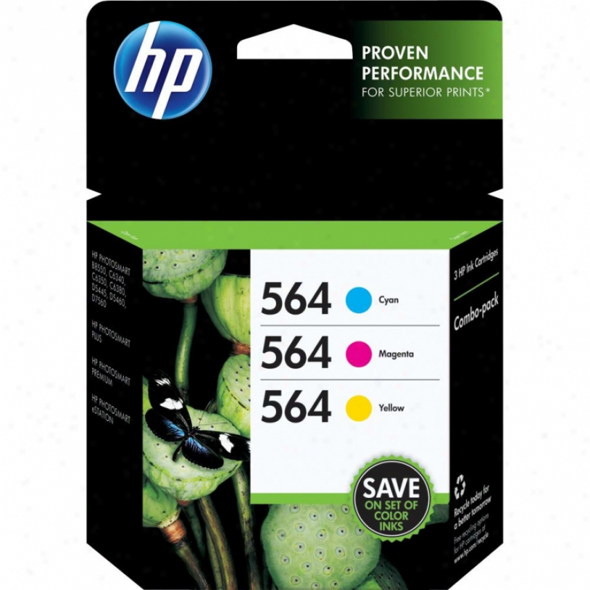 Hp 564 Ink Combo Pack