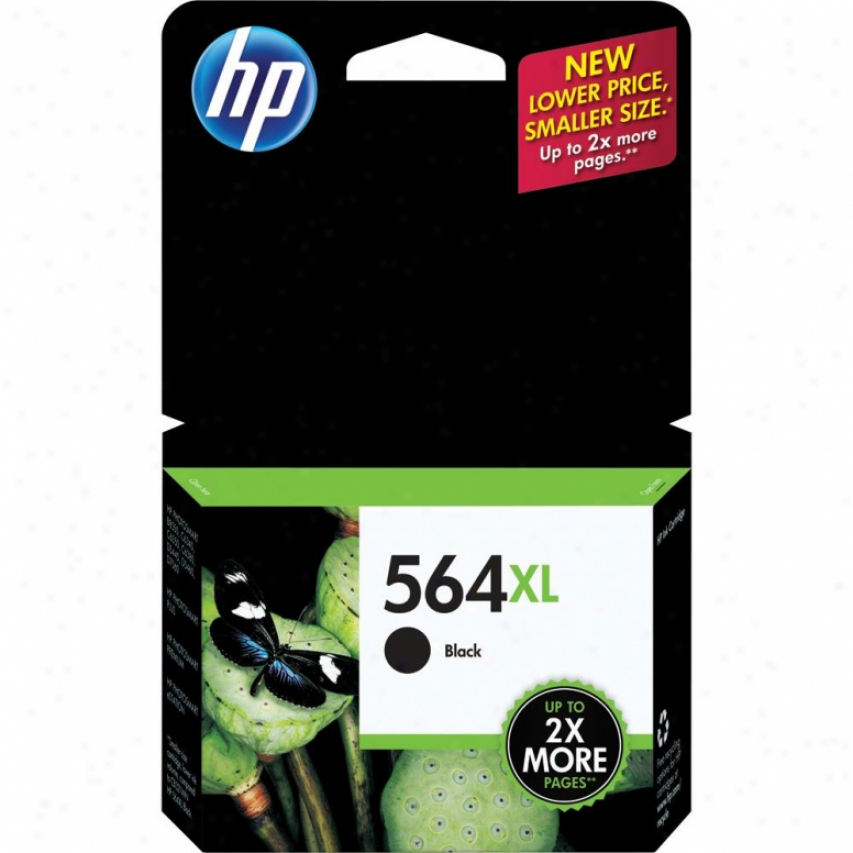 Hp 564xl Blzck Inkjet Print Cartridge - Cn684wn