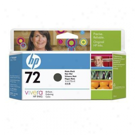 Hp 72 130ml Matte Blaco Ink Ca