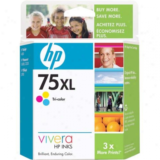 Hp 75xl Tri-color Innk Cartridge