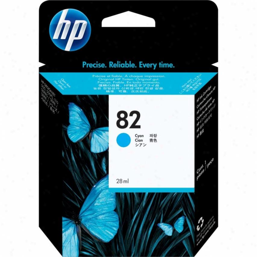 Hp 82 Cyan Ink Cartridge