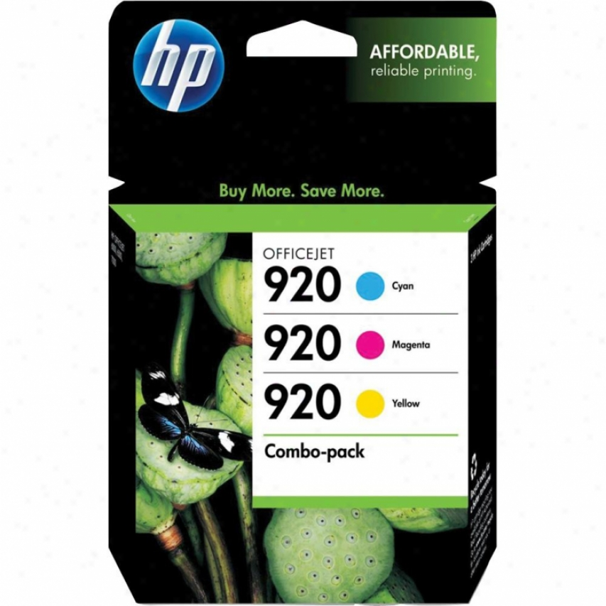 Hp 920 Ink Cartridge Combo Pwck