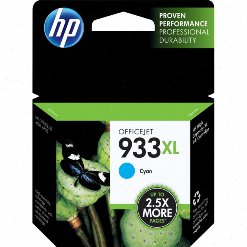 Hp 933xl Cyn Officejet Ink Cartridge