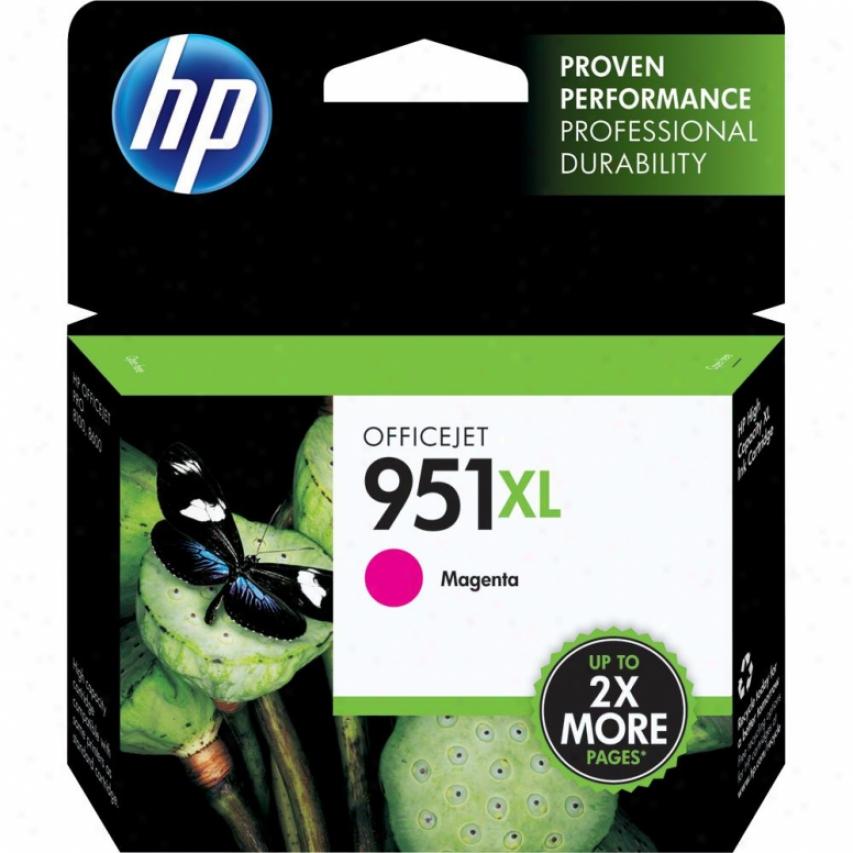 Hp 951xl Magenta Officeje5 Ink Cartridge