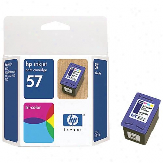 Hp C6657an #57 Color Inkjet Cartridge (17 Ml)