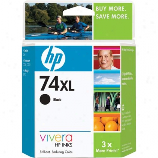 Hp Cb336wn 74xl Black Ink Cartridge