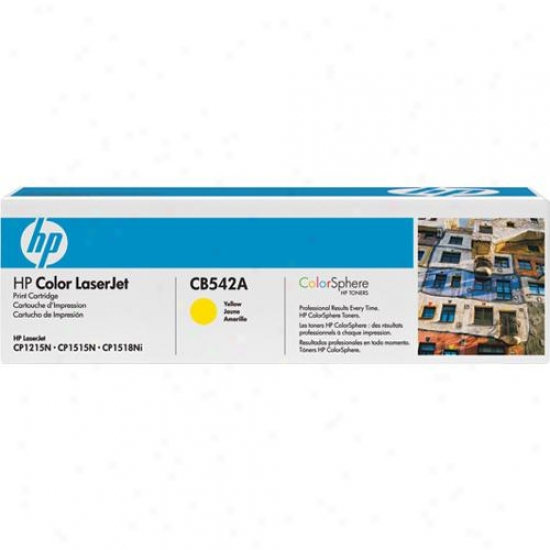 Hp Cb542a Laserjet Yellow Ink Printer Cartridge