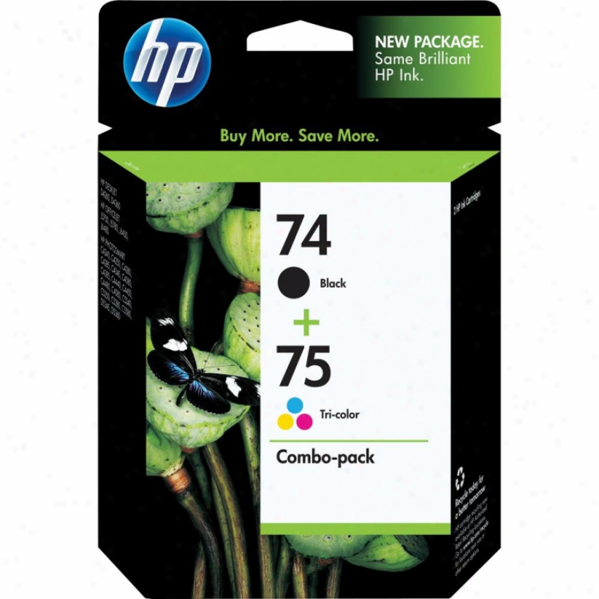 Hp Cc6659fn 74 And 75 Printer Ink Cartridge