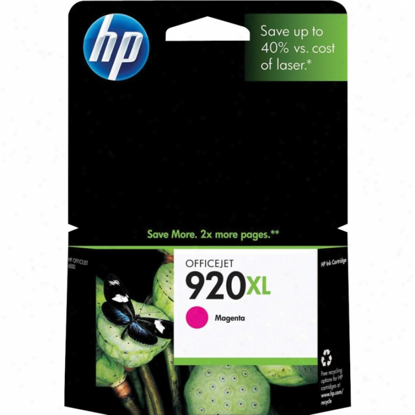 Hp Cd973an 920xl Magenta Officejet Ink Cartridge
