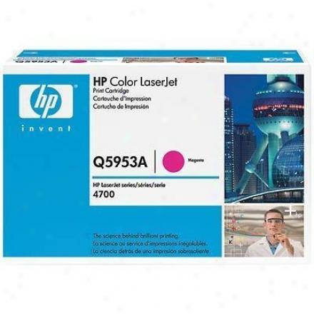 Hp Clj4700 Magenta Print Cartridg