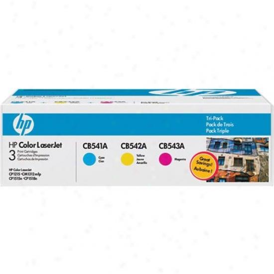 Hp Redness Laserjet Cb541a/cb542a/cb543a T5i-pack Print Cartridges