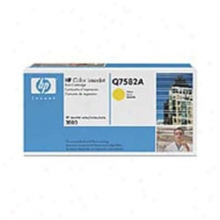 Hp Colorlaserjet Q7582a Yellow Cartridge