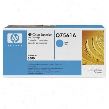 Hp Cyan Print Cartrg For Clh3000