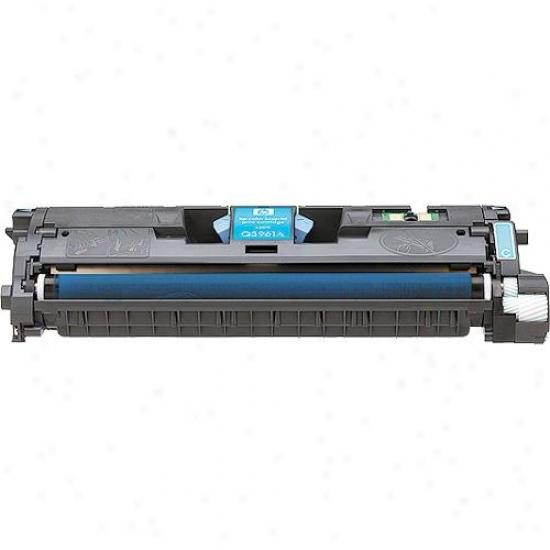 Hp Cyan Toner Cartridge Toward Lj2550 Printer Q3961a