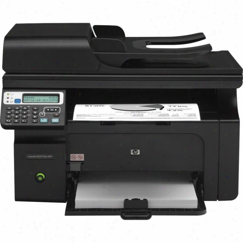 Hp Laserjet Pro M1217nfw Wireless Multifunction Laser Printer