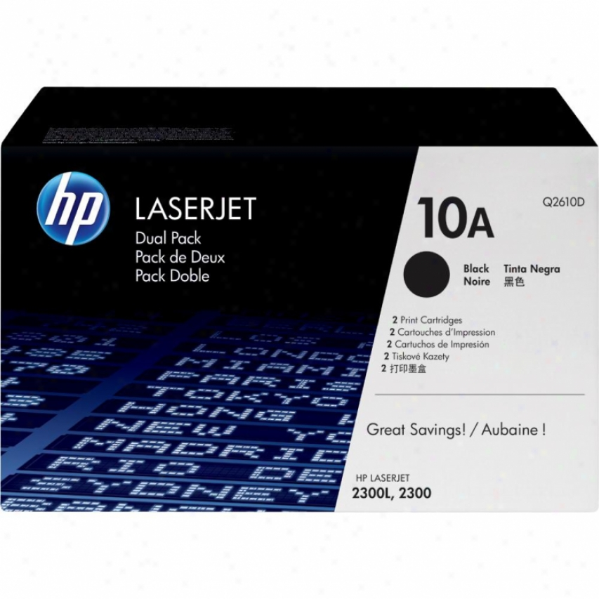 Hp Lj 2300/l Print Cartridge Dual